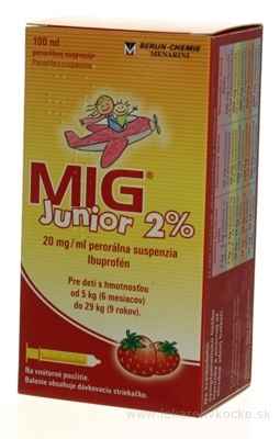MIG Junior 2% sus por 1x100 ml