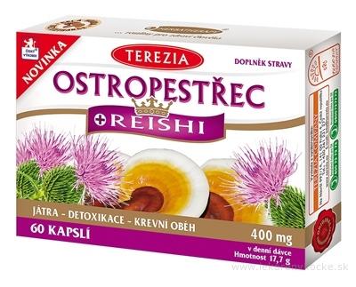 TEREZIA OSTROPESTREC + REISHI cps 1x60 ks