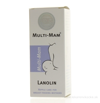 MULTI-MAM LANOLIN krém 1x30 ml