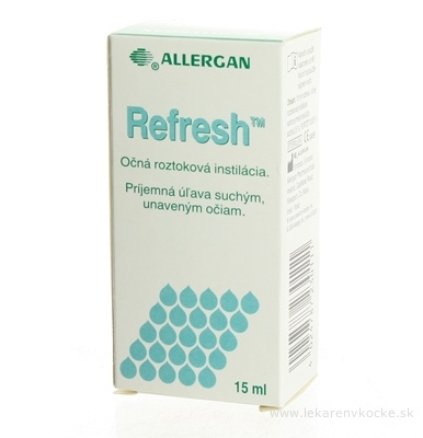 REFRESH int oph 1x15 ml