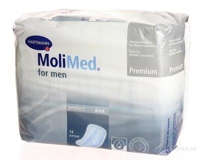 MOLIMED PREMIUM FOR MEN PROTECT vložky absorpčné pre mužov 1x14 ks