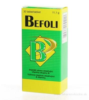 Vitabalans BEFOLI tbl 1x30 ks