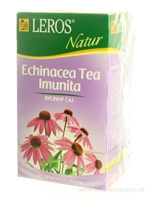 LEROS NATUR ECHINACEA TEA IMUNITA bylinný čaj 20x2 g (40 g)