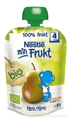 Nestlé min Frukt BIO Hruška kapsička, ovocná desiata (od ukonč. 4. mesiaca) 1x90 g