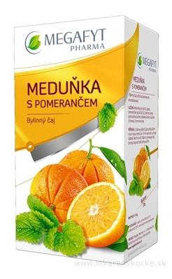 MEGAFYT Medovka s pomarančom 20x2 g (40 g)
