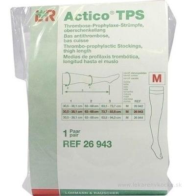 ACTICO TPS M NORMAL elastické pančuchy stehenné 1x1 pár
