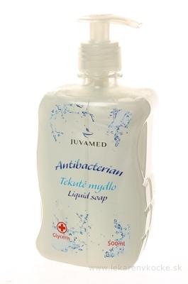 JUVAMED ANTIBACTERIAN TEKUTÉ MYDLO s glycerínom 1x500 ml