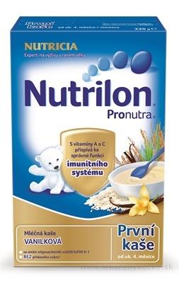 Nutrilon Pronutra prvá obilno-mliečna kaša vanilková (od ukonč. 4. mesiaca) 1x225 g