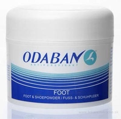 ODABAN antitranspirant FOOT puder na nohy a do topánok 1x50 g