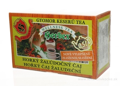 HERBEX HORKY ŽALUDOČNÝ ČAJ bylinný 20x3 g (60 g)