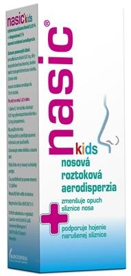 Nasic pre deti nosová roztoková aerodisperzia aer nao (fľ.skl.s namontovaným rozprašovačom) 1x10 ml