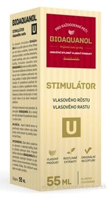BIOAQUANOL U stimulátor vlasového rastu 1x55 ml