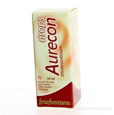Fytofontana Aurecon DROPS UŠNÉ KVAPKY zmes olejov na hygienu ucha 1x10 ml