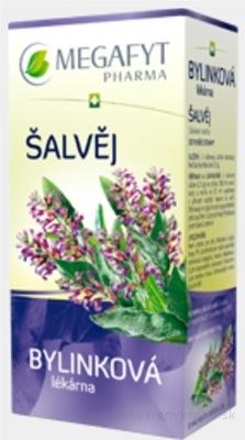 MEGAFYT Bylinková lekáreň ŠALVIA bylinný čaj 20x1,5 g (30 g)
