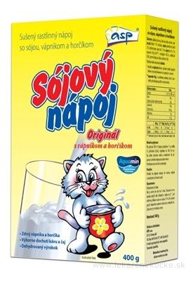 asp SÓJOVÝ NÁPOJ Originál (Mačka) sušený 1x400 g