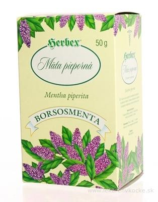 HERBEX MÄTA PIEPORNÁ - VŇAŤ sypaný čaj 1x50 g