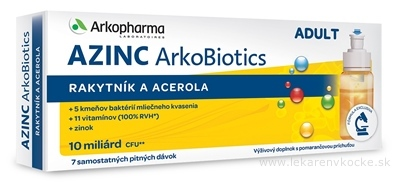 S&D Pharma Azinc Arkobiotics Adult 7 x 10 ml