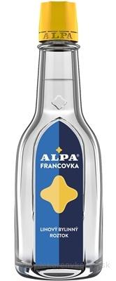ALPA FRANCOVKA liehový bylinkový roztok 1x60 ml