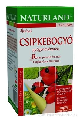 NATURLAND ŠÍPKOVÝ ČAJ ovocný čaj, nálevové vrecúška 20x2,5 g (50 g)