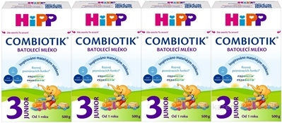 HiPP 3 JUNIOR Combiotik 4x500 g
