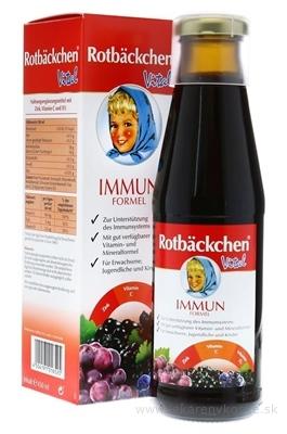 Rotbäckchen Vital Imunita šťava (Immun Formel) 1x450 ml