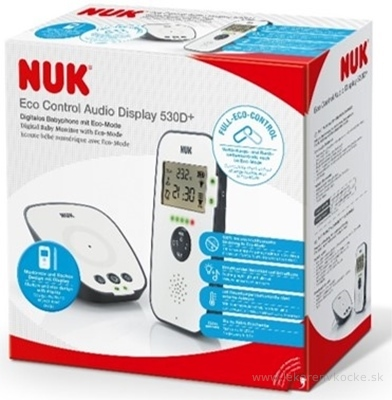 Nuk pestúnka ECO Control Audio Display 530D+