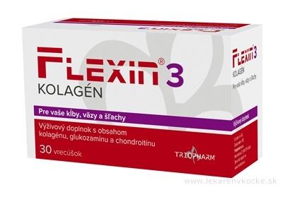 FLEXIN 3 KOLAGÉN granulát vo vrecúškach na prípravu nápoja 1x30 ks