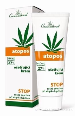 Cannaderm ATOPOS ošetrujúci krém na atopiu a psoriázu 1x75 g