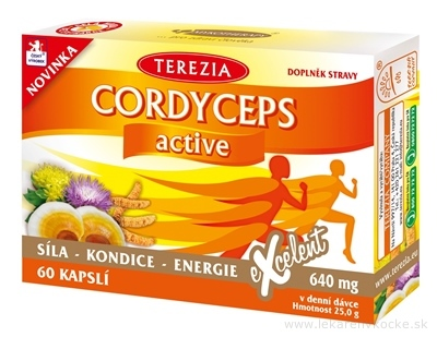 TEREZIA CORDYCEPS active cps 1x60 ks