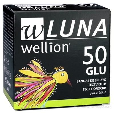 Wellion LUNA GLU testovacie prúžky k prístroju LUNA 1x50 ks
