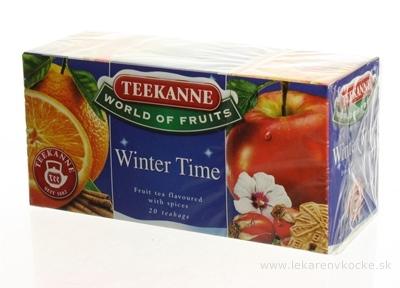 TEEKANNE WOF WINTER TIME ovocno-bylinný čaj 20x2,5 g (50 g)