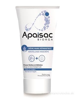 Apaisac BIORGA Reparačný krém na ruky modrá rada (Restorative Hand Cream) 1x50 ml
