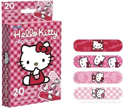 Hello Kitty sterilné detské náplasti 1x20 ks