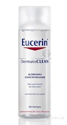 Eucerin DermatoCLEAN čistiaca pleťová voda pre všetky typy pleti 1x200 ml