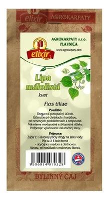 AGROKARPATY LIPA MALOLISTA kvet bylinný čaj 1x30 g
