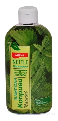 Milva ŠAMPÓN ŽIHĽAVA (Milva Shampoo NETTLE) 1x200 ml