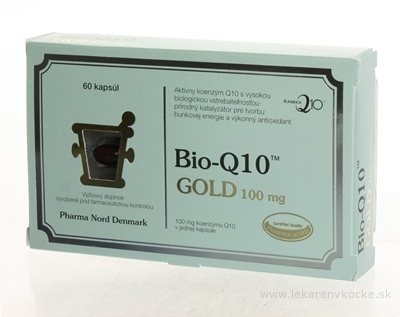 Bio-QUINON Q10 GOLD 100 mg cps 1x60 ks