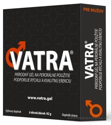 VATRA pre mužov gél na perorálne použitie 6x7 g (42 g)