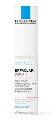 LA ROCHE-POSAY EFFACLAR DUO + Tinted light (M9114500) 1x40 ml