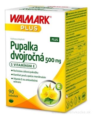 WALMARK Pupalka dvojročná 500 mg s vitamínom E cps 1x90 ks