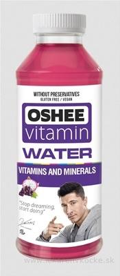 OSHEE Vitamin Water VITAMINS AND MINERALS 1x0,555 l