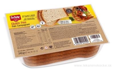 Schär PAIN Campagnard chlieb bezgluténový krájaný 1x240 g