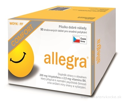 allegra COMFORT tbl 1x90 ks