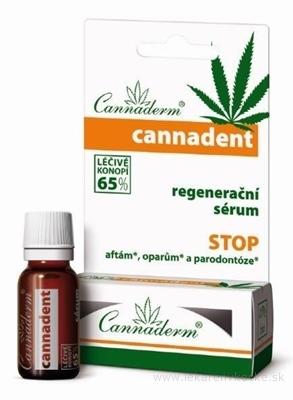 Cannaderm CANNADENT regeneračné sérum na afty a opary 1x5 ml