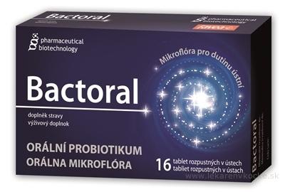 BACTORAL (Pharmaceutical Biotechnology) tbl 1x16 ks