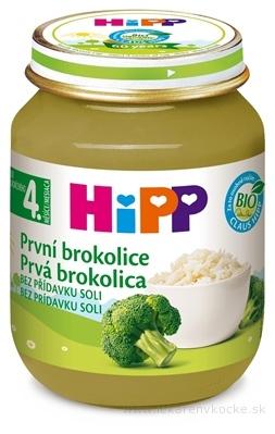 HIPP Príkrm Prvá brokolica zeleninový (od ukonč. 4. mesiaca) 1x125 g