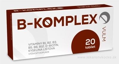 VULM B-KOMPLEX tbl flm 1x20 ks