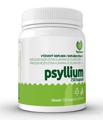 Top Green Psyllium cps 1x250 ks
