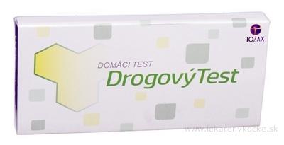 TOZAX Multidrogový test – 5 druhov drog jednokrokový test (COC, THC, OPI, MET, AMP v moči) 1x1 ks
