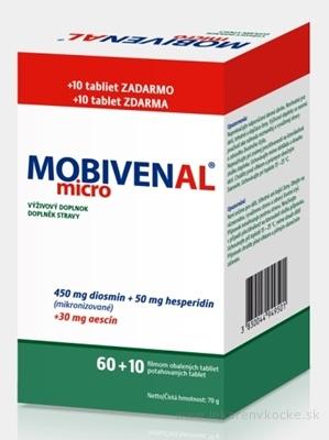 MOBIVENAL micro tbl flm 60+10 zadarmo (70 ks)